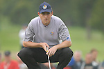 23rd September, 2006. .European Ryder Cup Team player David Howell on the 9th green during the afternoon foursomes session of the second day of the 2006 Ryder Cup at the K Club in Straffan, County Kildare in the Republic of Ireland..Photo: Eoin Clarke/ Newsfile.