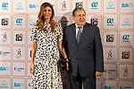 First Lady of Argentina, Juliana Awada (L) and Federico Ramon Puerta attend photocall of concert of Festival Unicos. September 23, 2019. (ALTERPHOTOS/Johana Hernandez)