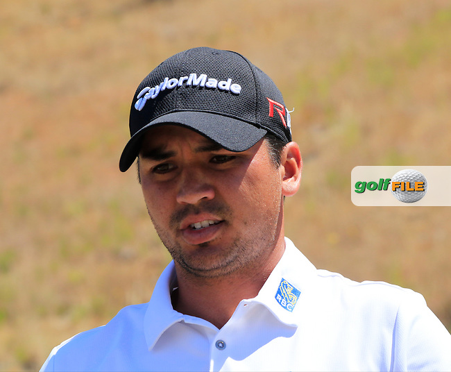 Jason DAY (AUS) after teeing off the 8th tee during Friday's Round 2 of the 2015 U.S. Open 115th National Championship held at Chambers Bay, Seattle, Washington, USA. 6/19/2015.<br /> Picture: Golffile | Eoin Clarke<br /> <br /> <br /> <br /> <br /> All photo usage must carry mandatory copyright credit (&copy; Golffile | Eoin Clarke)