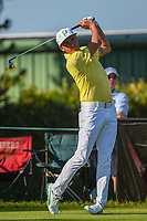 Rickie Fowler (USA) watches his tee shot on 2 during round 3 of the Arnold Palmer Invitational at Bay Hill Golf Club, Bay Hill, Florida. 3/9/2019.<br /> Picture: Golffile | Ken Murray<br /> <br /> <br /> All photo usage must carry mandatory copyright credit (&copy; Golffile | Ken Murray)