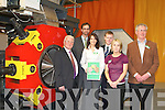 Proud staff of Kerry DIES at the launch of the Worlds first Wood Pellet macheine at their factory in Fossa on Friday Hugh O'Connor, Liam O'Connor, James Browne, Tina Griffin, Sean keating, Caroline Leahy  ..