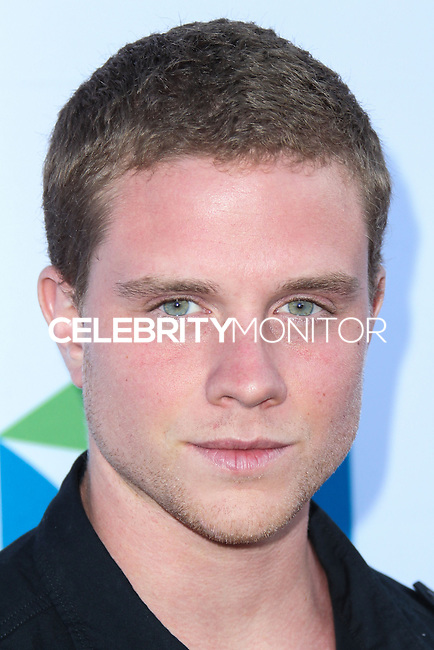 SANTA MONICA, CA, USA - JUNE 11: Jonny Weston at the Pathway To The Cures For Breast Cancer: A Fundraiser Benefiting Susan G. Komen held at the Barker Hangar on June 11, 2014 in Santa Monica, California, United States. (Photo by Xavier Collin/Celebrity Monitor)