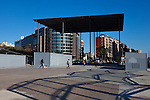 Plaça dels Països Catalans, Barcelona, Catalonia, Spain