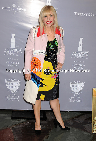 Pictured: Catherine Martin<br /> Mandatory Credit &copy; Gilbert Flores/Broadimage<br /> 2014 Rodeo Drive Walk of Style<br /> <br /> 2/28/14, Beverly Hills, California, United States of America<br /> <br /> Broadimage Newswire<br /> Los Angeles 1+  (310) 301-1027<br /> New York      1+  (646) 827-9134<br /> sales@broadimage.com<br /> http://www.broadimage.com