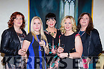 Martina Murphy, Kate Twomey, Carol O'Mahony, Janice Sheehan and Anne O'Sullivan Millstreet at the Lisa Fitzpatrick style night in  the Muckross Park Hotel on Friday night