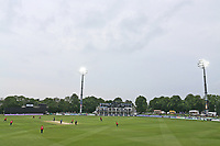 General view of play under the floodlights during Kent Spitfires vs Essex Eagles, Royal London One-Day Cup Cricket at the St Lawrence Ground on 17th May 2017