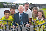 Launching the 2007 Kerry.Group youth cylcing race in Killorglin.last Wednesday were l-r:.Cian Corcoran, Frank Hayes.(Kerry Group), Michael Concannon,.Morgan OSullivan,.Eoin OShea and Danielle Doyle