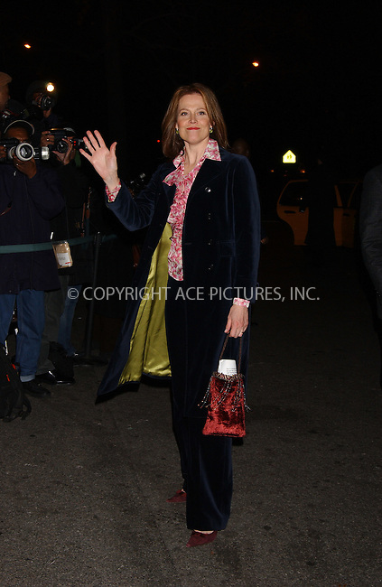 WWW.ACEPIXS.COM . . . . . ....January 10 2006, New York City....Sigourney Weaver....The 2005 National Board of Review Motion Pictures Awards ceremony at the Tavern on the Green, Manhattan....Please byline: KRISTIN CALLAHAN - ACEPIXS.COM.. . . . . . ..Ace Pictures, Inc:  ..Philip Vaughan (212) 243-8787 or (646) 679 0430..e-mail: info@acepixs.com..web: http://www.acepixs.com