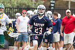 Orange, CA 05/16/15 - Ryan Green (Dayton #23) in action during the 2015 MCLA Division II Championship game between Dayton and Concordia, at Chapman University in Orange, California.