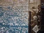 """Kraków, 2018-09-06. Fragment stałej ekspozycji.  Fabryka """"Emalia"""" Oskara Schindlera – fabryka założona w 1937 jako miejsce produkcji wyrobów emaliowanych i blaszanych. Wydzierżawiona, a potem przejęta przez niemieckiego przedsiębiorcę Oskara Schindlera w 1939, Schindler zatrudniał w niej zagrożonych eksterminacją Żydów. Aktualnie w dawnym budynku administracyjnym Fabryki Emalia Oskara Schindlera przy ul. Lipowej 4 mieści się wystawa """"Kraków – czas okupacji 1939–1945"""" dokumentującej okres niemieckiej okupacji miasta w latach 1939-1945."""