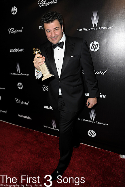 Ludovic Bource attends the 2012 Weinstein Company Golden Globes After Party at The Beverly Hilton Hotel in Beverly Hills, CA on January 15, 2012.