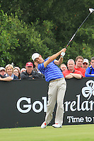 Padraig Harrington (IRL) tees off on the 12th tee during Day 1 Thursday of The Irish Open presented by Discover Ireland at Killarney Golf & Fishing Club on 28th July 2011 (Photo Jenny Matthews/www.golffile.ie)