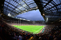 Picture by Simon Wilkinson/SWpix.com - 07/10/2017 - Rugby League - Betfred Super League Grand Final - Castleford Tigers v Leeds Rhinos - Old Trafford, Manchester, England -  GV general view fans