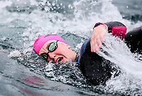 Stefannie Gillespie. Swimming New Zealand Open Water Championships, 10km Epic, Lake Taupo, Waikato, New Zealand, Saturday 13 January 2018. Photo: Simon Watts/www.bwmedia.co.nz