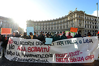 Roma, 16 Dicembre 2017<br /> Fight-Right, diritti senza confini, manifestazione per i diritti dei e delle migranti
