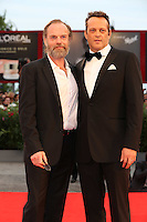 VENICE, ITALY - SEPTEMBER 04: Hugo Weaving, Vince Vaughn attend the premiere of 'Hacksaw Ridge' during the 73rd Venice Film Festival at Sala Grande on September 4, 2016 in Venice, Italy.<br /> CAP/GOL<br /> &copy;GOL/Capital Pictures /MediaPunch ***NORTH AND SOUTH AMERICAS ONLY***