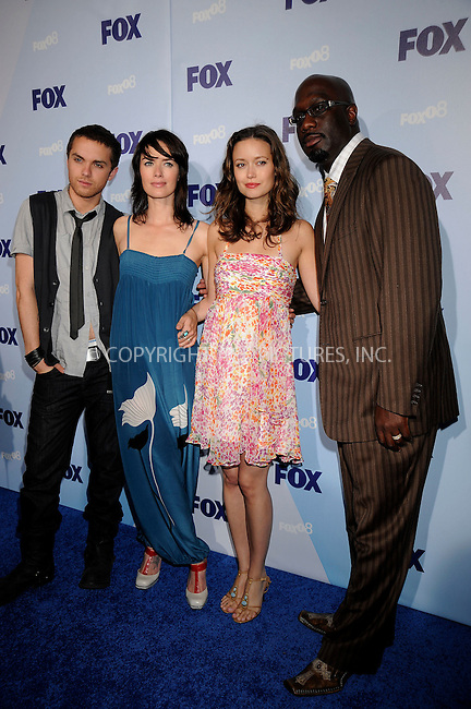 WWW.ACEPIXS.COM . . . . .....May 15, 2008. New York City.....Actors Thomas Dekker, Lena Headey, Summer Glau and Richard T. Jones attend the Fox Network Upfront held at the Wollman Rink in Central Park ...  ....Please byline: Kristin Callahan - ACEPIXS.COM..... *** ***..Ace Pictures, Inc:  ..Philip Vaughan (646) 769 0430..e-mail: info@acepixs.com..web: http://www.acepixs.com