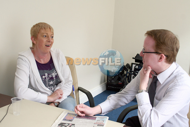Spotlight with Geraldine Clarke..Photo NEWSFILE/Jenny Matthews.(Photo credit should read Jenny Matthews/NEWSFILE)....This Picture has been sent you under the condtions enclosed by:.Newsfile Ltd..The Studio,.Millmount Abbey,.Drogheda,.Co Meath..Ireland..Tel: +353(0)41-9871240.Fax: +353(0)41-9871260.GSM: +353(0)86-2500958.email: pictures@newsfile.ie.www.newsfile.ie.FTP: 193.120.102.198.