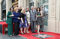 LOS ANGELES - MAY 7:  Marlis Pujol, Ann-Margret, Paul Reiser, Sarah Baker, Susan Sullivan, Alan Arkin, Alan J. Higgins, Lisa Edelstein, Chuck Lorre at the Alan Arkin Star Ceremony on the Hollywood Walk of Fame on May 7, 2019 in Los Angeles, CA