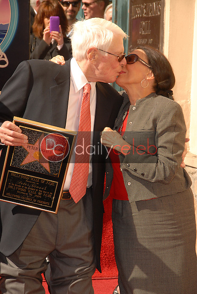 Peter Graves and wife Joan Endress<br />