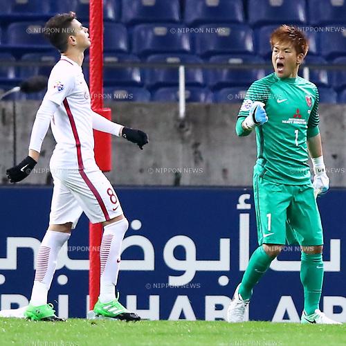 Shusaku Nishikawa (Reds), <br /> APRIL 11, 2017 - Football / Soccer : 2017 AFC Champions League Group F match between <br /> Urawa Reds 1-0 Shanghai SIPG<br /> at Saitama Stadium 2002, Saitama, Japan. (Photo by Sho Tamura/AFLO SPORT)