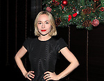 Sarah Goldberg attending the Opening Night After Party for the Playwrights Horizons World Premiere Production of 'The Great God Pan' at Heartland Brewery in New York City on December 18, 2012