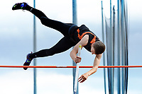Verona's Max Hekert takes second in the pole vault at 13 feet, zero inches during the Wisconsin WIAA Division 1 high school track and field regional on Monday. With the top seed, Hekert took only this single vault to qualify for sectionals on Thursday.