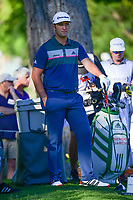 Jon Rahm (ESP) waits to putt on 10 during the round 1 of the Dean &amp; Deluca Invitational, at The Colonial, Ft. Worth, Texas, USA. 5/25/2017.<br /> Picture: Golffile | Ken Murray<br /> <br /> <br /> All photo usage must carry mandatory copyright credit (&copy; Golffile | Ken Murray)