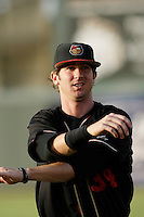 May 28 2009: Charlie Blackmon of the Modesto Nuts before game against the Inland Empire 66'ers at Arrowhead Credit Union Park in San Bernardino,CA.  Photo by Larry Goren/Four Seam Images