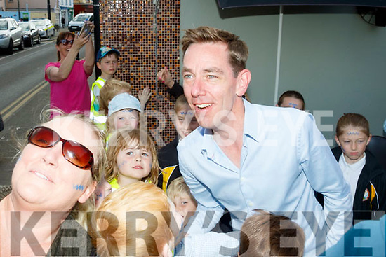 Ryan Tubridy broadcasted his radio show from Ballybunion on Wednesday.
