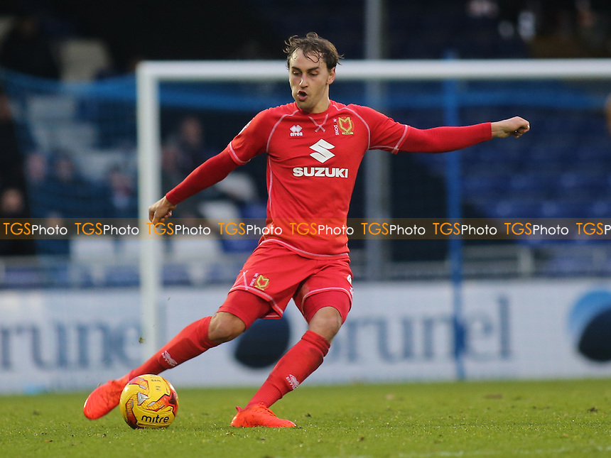 Ed Upson of MK Dons during Bristol Rovers vs MK Dons, Sky Bet EFL League 1 Football at the Memorial Stadium on 19th November 2016