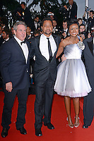 """Cuba Gooding Jr. and Mellody Hobson attending the """"Cosmopolis"""" Premiere during the 65th annual International Cannes Film Festival in Cannes, France, 25.05.2012...Credit: Timm/face to face /MediaPunch Inc. ***FOR USA ONLY***"""