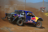 Apr 16, 2011; Surprise, AZ USA; LOORRS driver Ricky Johnson (48) during round 3 at Speedworld Off Road Park. Mandatory Credit: Mark J. Rebilas-.