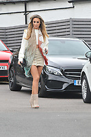 Amber Dowding <br /> arriving for filming for Towie la sala Chigwell<br /> <br /> <br /> &copy;Richard Open snappers