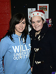 Lauren McEvoy and Jessica Bride pictured at the Mell children's Christmas party. Photo:Colin Bell/pressphotos.ie