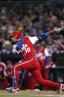 Yulieski Gourriel of the Cuban national team during championship game against Japan during the World Baseball Championships at Petco Park in San Diego,California on March 20, 2006. Photo by Larry Goren/Four Seam Images