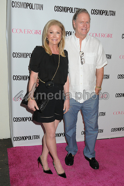 12 October 2015 - Hollywood, California - Kathy Hilton, Rick Hilton. Cosmopolitan 50th Birthday Celebration held at Ysabel. Photo Credit: Byron Purvis/AdMedia