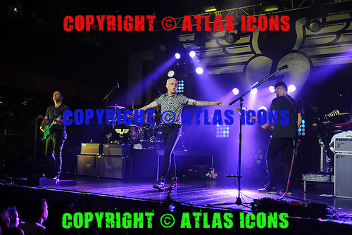 FORT LAUDERDALE FL - JULY 09: Chris Allen, Elaine Bradley, Tyler Glenn and Branden Campbell of Neon Trees perform at Revolution on July 9, 2015 in Fort Lauderdale, Florida. Photo by Larry Marano © 2015