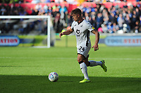 Jake Bidwell of Swansea City in action during the Sky Bet Championship match between Swansea City and Cardiff City at the Liberty Stadium in Swansea, Wales, UK. Sunday 27 October 2019