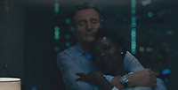 Widows (2018)<br /> Liam Neeson &amp; Viola Davis<br /> *Filmstill - Editorial Use Only*<br /> CAP/MFS<br /> Image supplied by Capital Pictures
