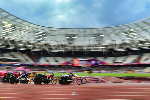 July 23rd 2017; London Stadium, East London, England; World Para Athletics Championships;  Men's 5000m T54 final