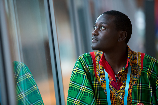 25 June, 2018, Kuala Lumpur, Malaysia : Dominic Kimitta of Kenya poses on the opening day at the Girls Not Brides Global Meeting 2018 at the Kuala Lumpur Convention Centre. Picture by Graham Crouch/Girls Not Brides