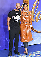 Marvin Humes and Rochelle Humes attend live-action remake of the hit Disney animated film Aladdin, at Odeon Luxe Leicester Square<br /> <br /> CAP/JOR<br /> &copy;JOR/Capital Pictures