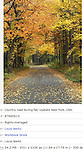 country road, fall ,upstate ,new York, usa,