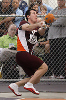 Virginia Tech's Tomas Kruzliak (262)