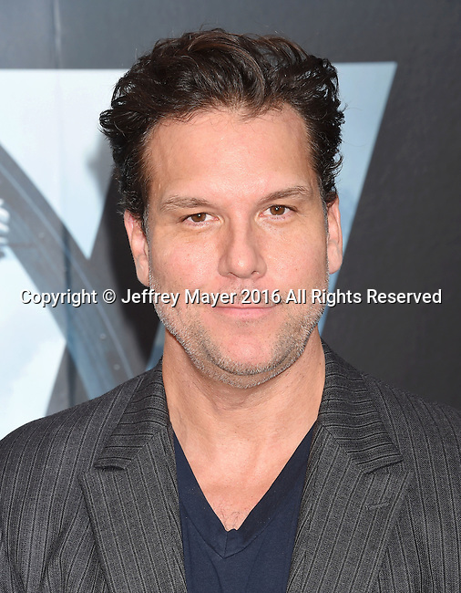 HOLLYWOOD, CA - SEPTEMBER 28: Actor Dane Cook attends the premiere of HBO's 'Westworld' at TCL Chinese Theater on September 28, 2016 in Hollywood, California.