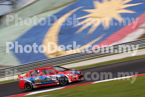 KUALA LUMPUR, MALAYSIA - May 29: Aun Yue Wei of Malaysia (#66) Malaysia Championship Series Round 1 at Sepang International Circuit on May 29, 2016 in Kuala Lumpur, Malaysia. Photo by Peter Lim/PhotoDesk.com.my