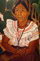 India de Panchimalco by José Mejia Vides (1903-1993), Museo de Arte de El Salvador (MARTE), San Salvador, El Salvador