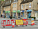 Witney, a town in Oxfordshire in the Cotswolds during Lockdown as British Government restrictions are eased. CREDIT Geraint Lewis