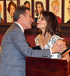Bryan Cranston and Tina Fey during The 69th Annual Outer Critics Circle Awards Dinner at Sardi's on May 23, 2019 in New York City.